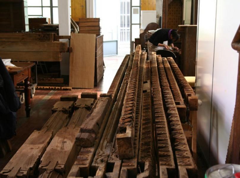 restauro gazebo orientale