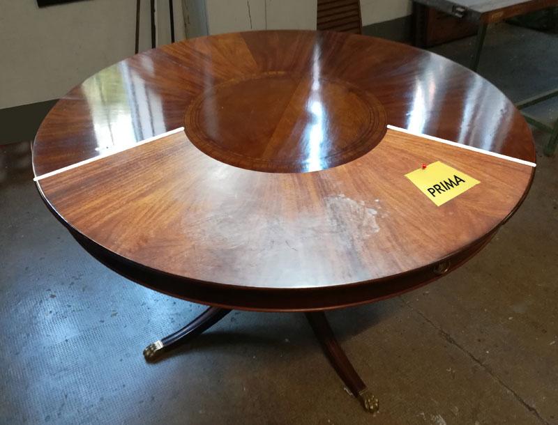 Restauro di un Tavolo rotondo