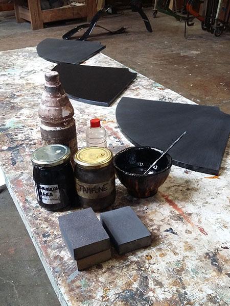 Restyling tavolino a spicchi